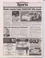 Buck wants Indy CASCAR tltle back