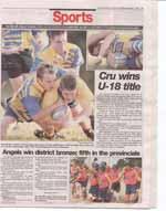 Cru wins U-18 title