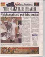 Neighbourhood pot labs busted: police raid three north Oakville houses