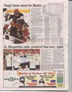 St. Marguerites make provincial final four - again