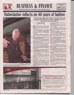 Haberdasher reflects on 40 years of fashion: Sean Garvey began selling men's clothing...