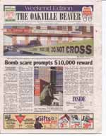 Bomb scare prompts $10,000 reward