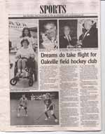 Dreams do take flight for Oakville field hockey club