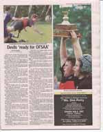 Devils 'ready for OFSAA'