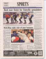 Best ever finish for Oakville speedsters