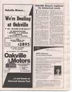 Oakville Beaver explores its historical roots