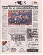 Oakville Sting win prestigious Italian tourney title