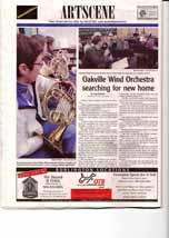 Oakville Wind Orchestra searching for new home