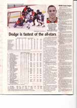 Dodge is fastest of the all-stars