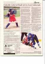 Oakville Girls Softball set to host nationals
