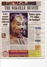 Carr wants Halton Liberal seat