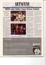 WOSS wins Halton Sears Drama Festival: Einstein's Dreams advances to regional stage