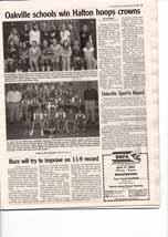 Oakville schools win Halton hoops crown