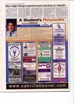 Blue Eagle brings experimental workshop to Oakville