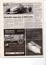 Hinchcliffe impressive at BMW event