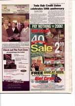Twin Oak Credit Union celebrates 50th anniversary