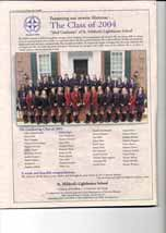 """Presenting our newest alumnae...The class of 2004: """"ideal graduates"""" of St. Mildred's-Lightbourn School"""
