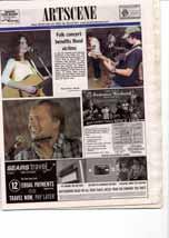 Folk concert benefits flood victims