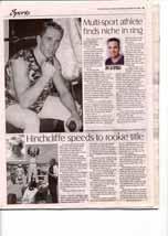 Multi-sport athlete finds niche in ring