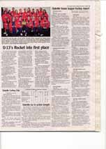 U-13's Rocket into first place