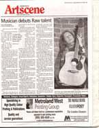 Musician debuts raw talent