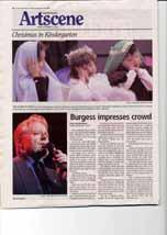 Burgess impresses crowd