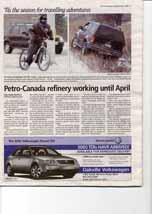 Petro-Canada refinery working until April
