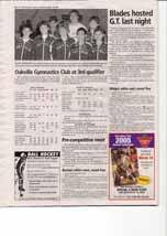 Oakville Gymnastics Club at 3rd qualifier