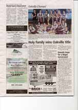 Holy Family wins Oakville title