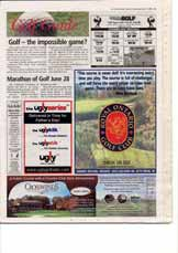 Golf - the impossible game?