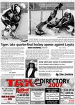 Tigers take quarter-final hockey opner against Loyola