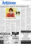 Young actor ready for first Stratford role