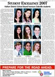 Student excellence 2007 : Halton District School Board honours Oakville students