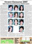 Student Excellence 2007: Halton District School Board honours Oakville students
