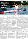 Kayaker with a cause