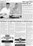 Nicholson's six gold helps Burloak to national crown