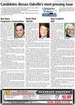 Candidates discuss Oakville's most pressing issue: Ontario votes 2007