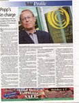 Popp's in charge: Gerald Popp is the new president of the Oakville Chamber of Commerce