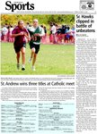 St. Andrew wins three titles at Catholic meet