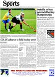 Oakville to host provincial hockey championships