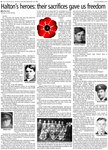 Halton's heroes: their sacrifices gave us freedom