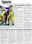 Irish three-pointers sink Titans: Notre Dame pulls away in final quarter of senior trial