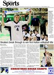 Breakers break through to win first Halton volleyball title