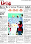Banner day for spirited Pine Grove students; School program encourages kids to connect with others across the country