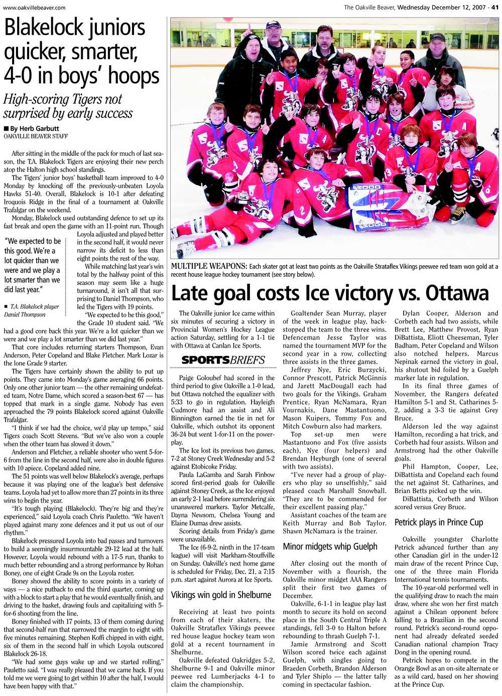 Late goal costs Ice victory vs. Ottawa