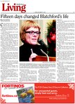 Fifteen days changed Blatchford's life
