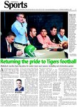 Returning the pride to Tigers football: Blakelock coaches have big plans for senior team next season, including out-of-province games