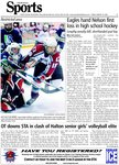 Eagles hand Nelson first Loss in high school hockey