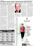 Cliff Byrnes oversaw Halton Catholic board's formative years : Cliff Byrnes oversaw Halton Catholic board's formative years