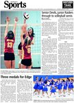 Senior Devils, junior Raiders through to volleyball semis